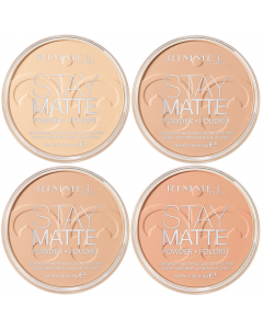 Rimmel Stay Matte Pressed Powder Pack Of 3