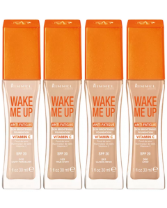 Rimmel Wake Me Up Foundation Pack Of 3