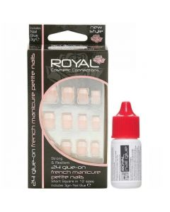 Royal French Manicure Petite Nail Tips Pack Of 6