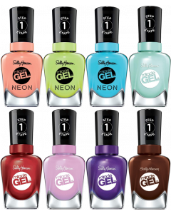 Sally Hansen Miracle Gel/Neon Nail Polish Pack Of 16