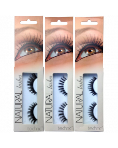 Technic Natural Lashes Pack Of 12
