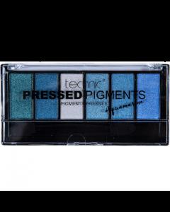 Technic Pressed Pigments Aquarine 6pc Eyeshadow