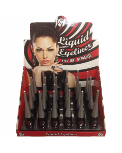 W7 Liquid Eyeliner Black Tray x 24