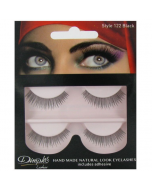 Dimples False Eyelashes Black Style 122
