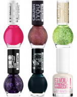 Miss Sporty Assorted Nail Polish Pack Of 48 (Pack 2)