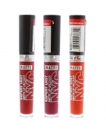 New York Color Expert Last Matte Lip Lacquer Pack Of 3