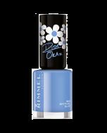 Rimmel Rita Ora Nail Polish 860 Bestival Blue Pack Of 3