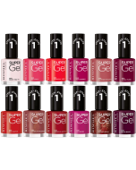 Rimmel Super Gel Nail Polish Pack Of 24