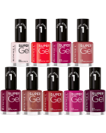 Rimmel Super Gel Nail Polish Pack Of 26
