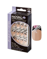Royal Cosmopolitan Nail Tips Pack Of 6