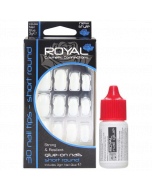 Royal Cosmetic Connections Short Round Nail Tips