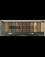Technic 12pc Mega Nudes 2 Eyeshadow Palette Tray x 12